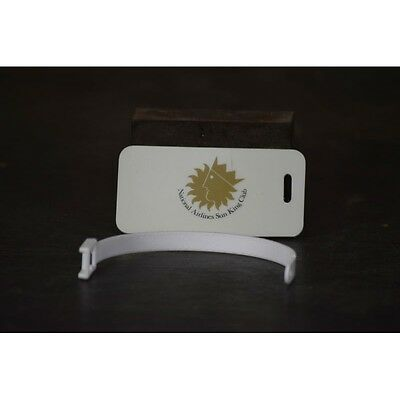 Vintage National Airlines Sun Kings Club Plastic Luggage Tag