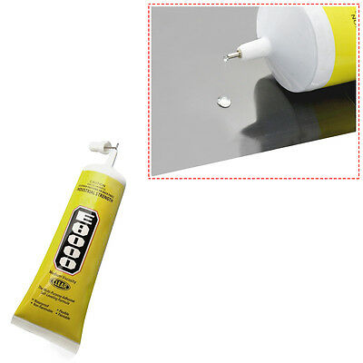 E8000 Glue Adhesive, DIY Clear Sealant Glue for Clothes Shoes Jewelry Seal Phone