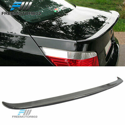 PAINTED BMW E60 4DR 5-Series A Type Rear Trunk Spoiler Wing ABS 535i 550i M5