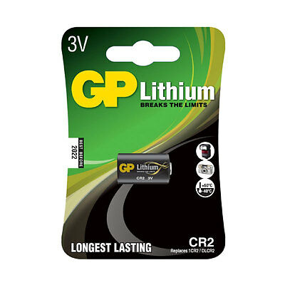 GP Batteries CR2 - C1 Photo Lithium 3V Battery