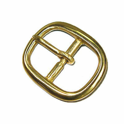 """Z150 Chrome Brass Bar Buckle With Roller 3//4/"""" Free Shipping"""