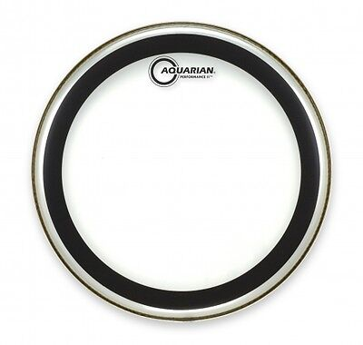 "Aquarian Performance 2 Clear Drum Heads 6""-16"" Tom Batter heads"