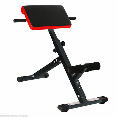 Back Extension Bench Hyperextension Roman Chair Hyper Extension Fitness Workout