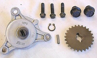 Suzuki AN400 Burgman Scooter Oil Pump Assembly. 2003, 2004, 2005, 2006. Mikuni.