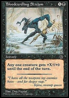 2x Urlo Raccapricciante - Bloodcurdling Scream MTG MAGIC PO2 Eng/Ita