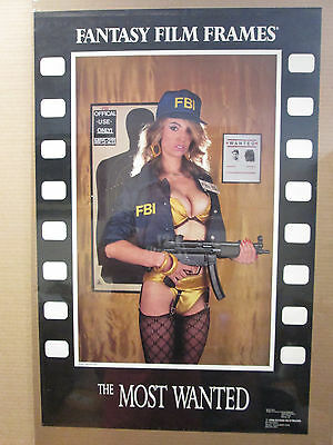 Vintage 1990 Fantasy Film Frames The Most Wanted poster 9505