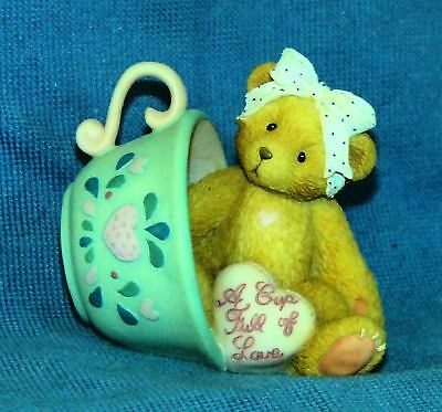 Cherished Teddies Margaret-A Cup Full Of Love Teacup-94