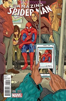 Amazing Spider-Man #16 Women Of Marvel Variant Cover March 2015 Comic Book New 1