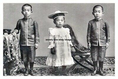 mm890 - Children of the Crown Prince of Japan - Royalty photo 6x4