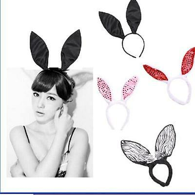 Easter Halloween Party Fur Rabbit Bunny Ear Headband Costume For Kids Child - 6A