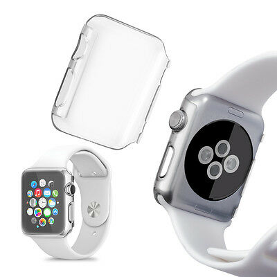 kwmobile CRYSTAL HARDCASE FÜR APPLE WATCH 42MM (SERIES 1) TRANSPARENT UHR CASE