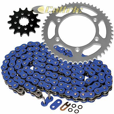 BLUE O-Ring Drive Chain & Sprockets Kit Fits YAMAHA WR450F 2003-2009