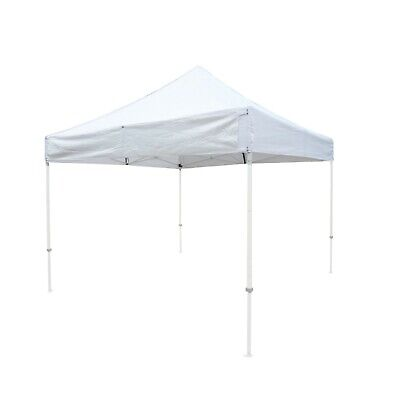 EZ Up 10x10 Gazebo Tent Canopy Replacement Canopy Top. w/Detach Sign display. WH