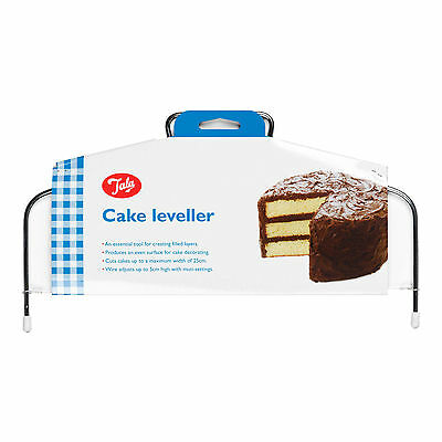 New Cake Leveller Adjustable Wire For Cutting Level Layers In Cakes Tala 9744