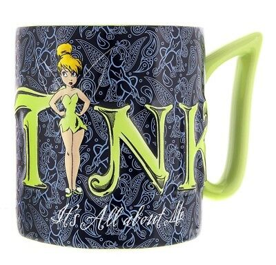 disney parks ceramic coffee cup mug tinker bell all about me new