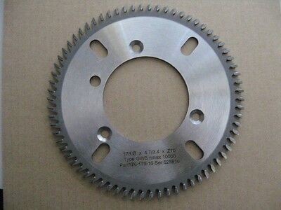 Sulby, Rosback 70-tooth Spine Roughing / Milling Blade for Perfect Binders - NEW