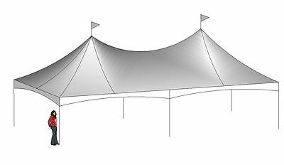 20x40 Quick Peak Tent (top and Frame)