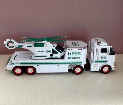 2006 Hess Toy Tractor Truck with Helicopter