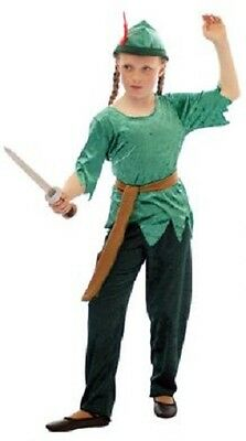 Peter Pan//Dance//Stage Shows//Cave TRIBAL LOST GIRL Fancy Dress Costume ALL AGES