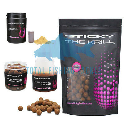 Sticky Baits NEW Carp Fishing Krill Combo #2 Session Pack 5KG 16mm Boilies