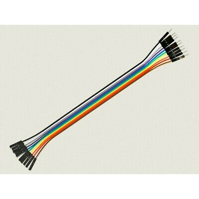Cable Hembra Macho 10 x 1 pin 20cm Female - Male Jumper Cables for Arduino