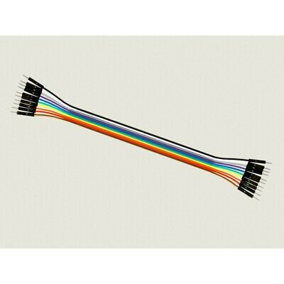 Cable Macho Macho 10 x 1 pin 20cm Male - Male Jumper Cables for Arduino