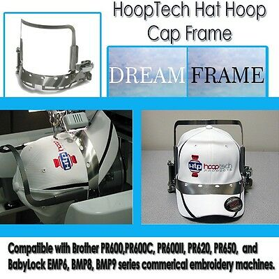 Embroidery Machine Hat Hoop Cap Frame - Dream Frame For Brother PRPCF1
