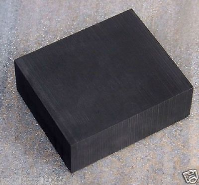 1pcs High Purity 99.9% Graphite Ingot Block Sheet 100mm * 100mm * 10mm