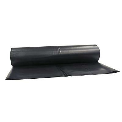 BRAND NEW Black Plastic Poly Sheeting 20 x 100 VISQUEEN 6 MIL