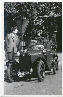 Austin Seven Chummy Photograph Dutch Museum photograph?