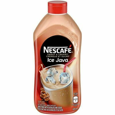 Nescafe Ice Java Cappuccino, 470 Mililiters/16 Ounces - 12 Pack