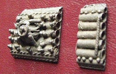 Authentic Ancient Artifact > Matching Byzantine Silver Belt Decorations ALS 31
