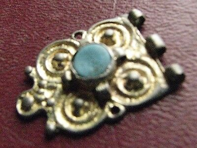 Authentic Ancient Artifact > Frankish Merovingian Belt Decoration Buckle ALS 13