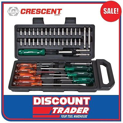 Crescent 44 Mixed Screwdriver & Bit Set - CSD44