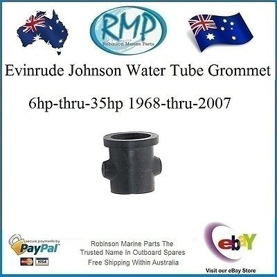 A Brand New Evinrude Johnson Water Tube Grommet 6hp-35hp 1968-2007 # R 302497