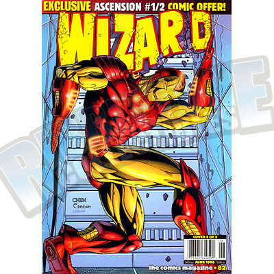 Wizard The Comic Magazine #82 Cover B Vf
