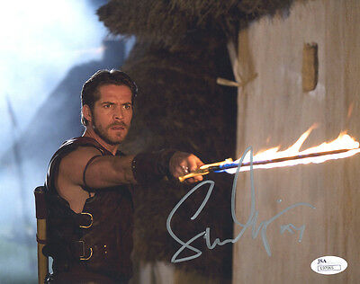 (SSG) SEAN MAGUIRE Signed 10X8 Color Photo with a JSA (James Spence) COA