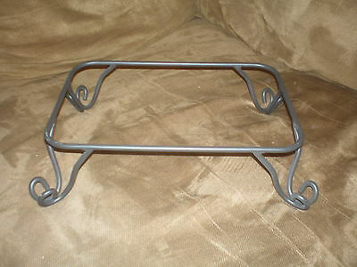 Longaberger Wrought Iron Rectangle Pedestal Stand