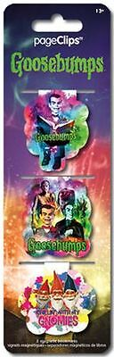 Goosebumps - Magnetic Page Clips - Brand New - Book Reading Bookmark 4611