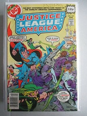 Justice League of America Vol. 1 (1960-1987) #165 VF+ UK Price Variant