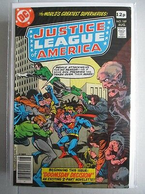Justice League of America Vol. 1 (1960-1987) #169 VF UK Price Variant