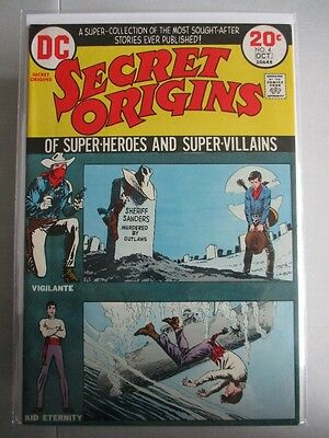 Secret Origins Vol. 2 (1973-1974) #4 VF+