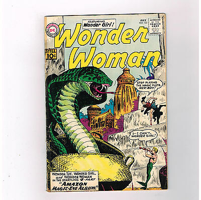 WONDER WOMAN (v1) #123 Fantastic Silver Age find from DC Comics!