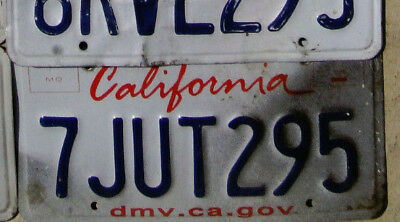 California License Plate - UGLY