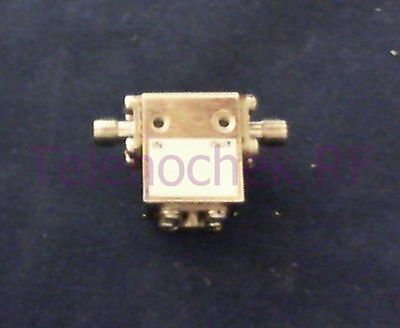 RF microwave single junction isolator 9500 MHz - 14.2 GHz /  15 Watt / data