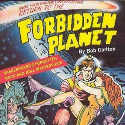"""RETURN TO THE FORBIDDEN PLANET Concert Flyer Science-Fiction 5.12/""""X8.2/"""" Rare"""