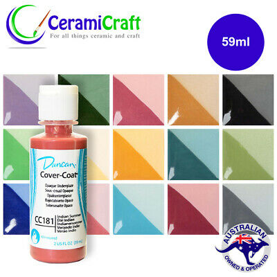 Duncan Cover Coats Underglaze 59ml, Ceramic, Pottery, Paint - Multiple Colours