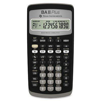 Texas Instruments BA II Plus Financial Calculator by Texas Instruments BRAND NEW
