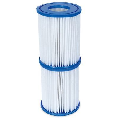 Bestway - Filter Cartridge Size 2 - Lay-Z-Spa & Swimming Pool Filter Cartridges