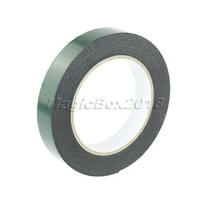 2cm x 5m Sticky Self Adhesive Double Side Sided Strong Mounting Tape Foam Coated